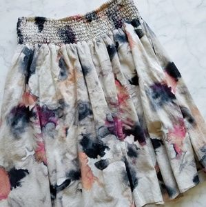 New York & Co. Watercolor Skirt - Small